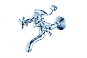 Смеситель для ванны с коротким изливом монолитный D80-330314