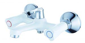 Смеситель для ванны с коротким изливом монолитный D96-330353BW